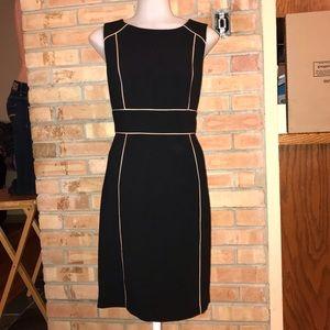 LOFT Black  Dress. Sz 4. Excellent Condition